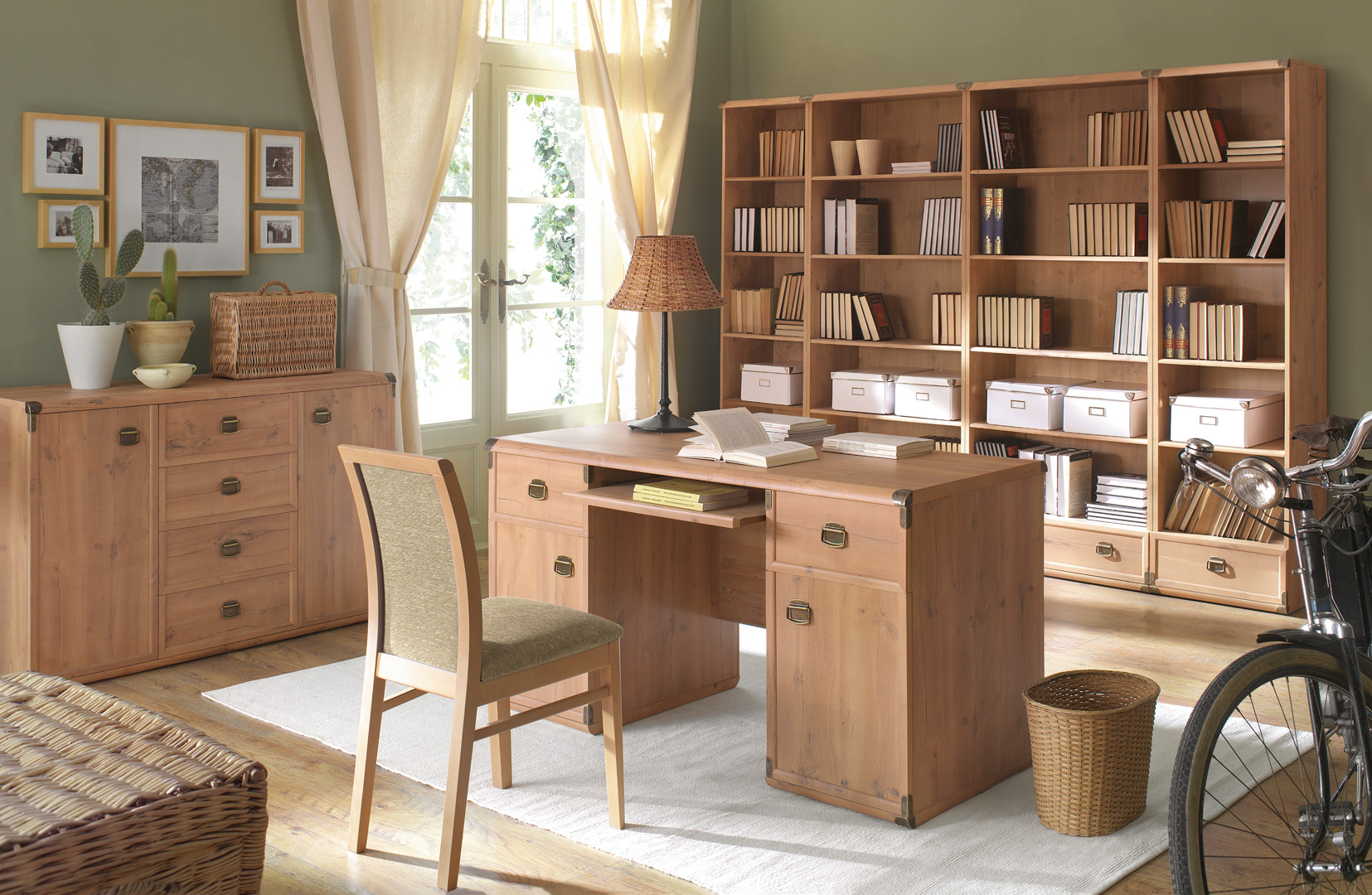 B ro komplett b rom bel arbeitszimmer einrichtung Home furniture rental indiana