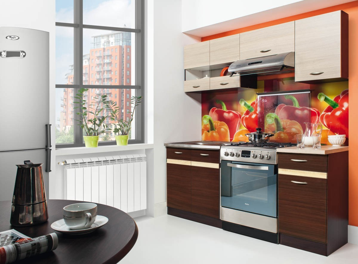 k che 180 220 240 260 k chenzeile erweiterbar fronten. Black Bedroom Furniture Sets. Home Design Ideas