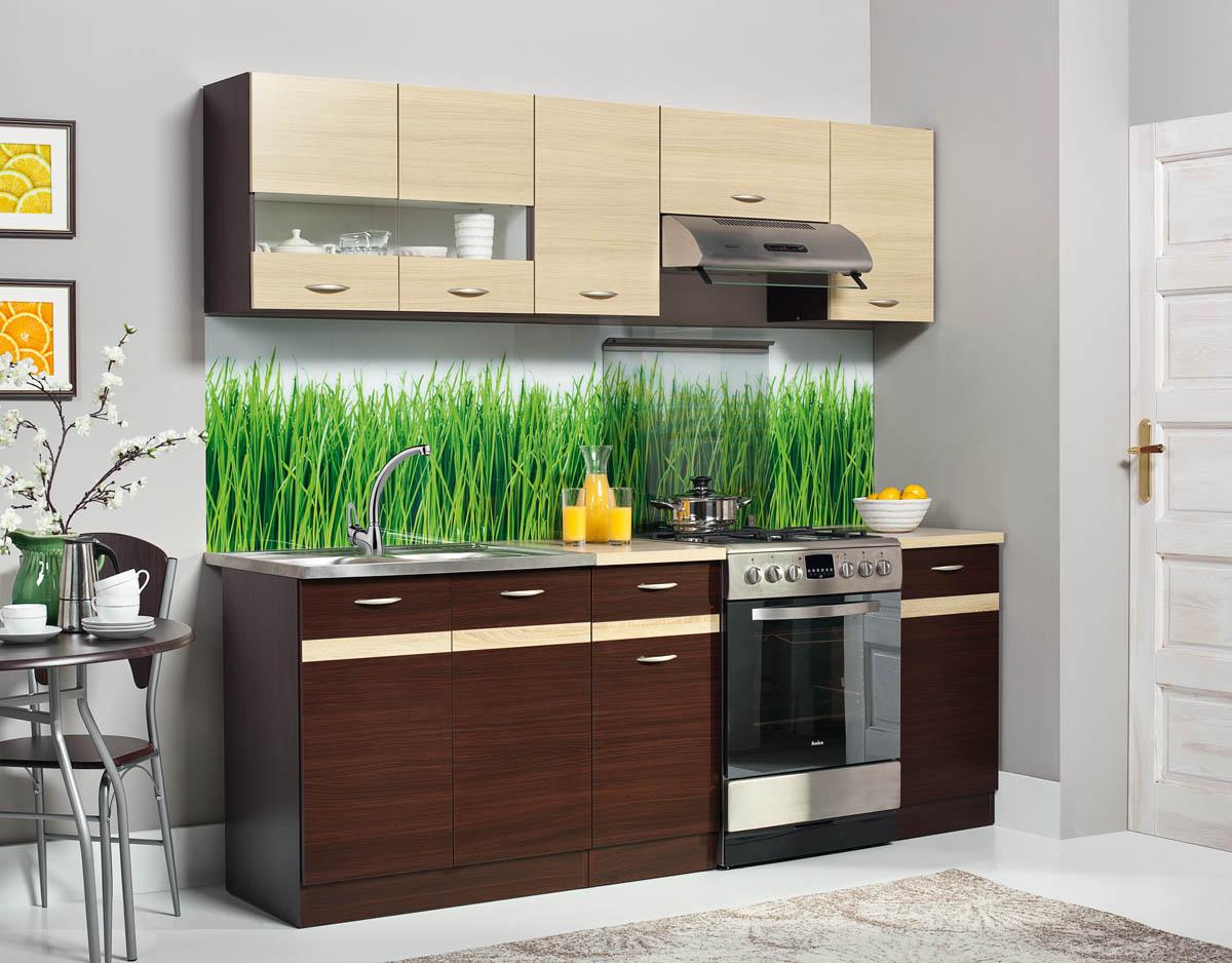 Küche 180, 220, 240, 260 Küchenzeile erweiterbar Fronten ...