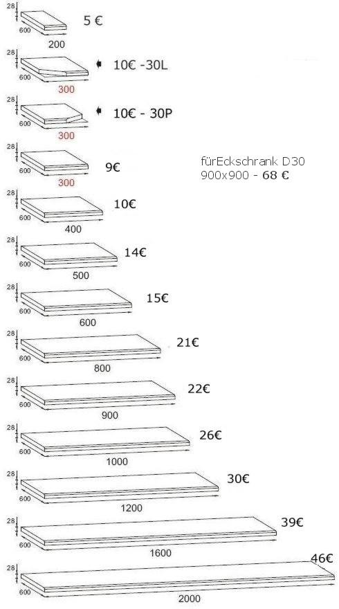 Komplett Küche 260cm Schränke Küchenzeilen Retro Neu