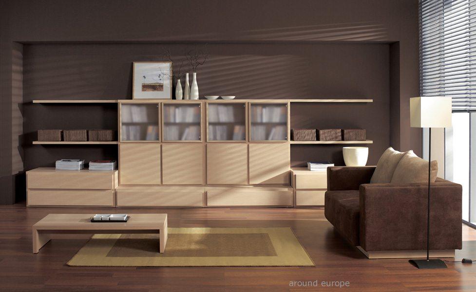 Wohnzimmer doors 6 in eiche milano oder wenge neu chf for Mobilier moderne