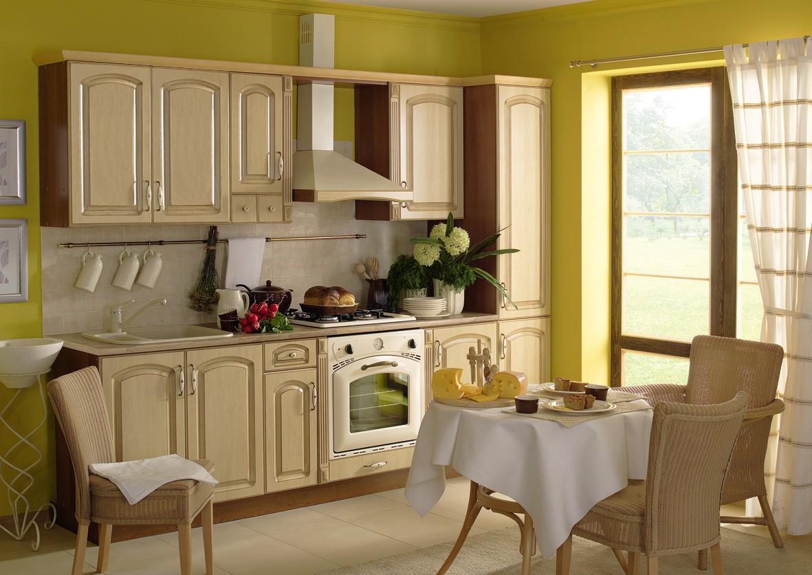 Küche, Schränke, Küchenzeile erweiterbar Syberische Birke Patina 2 ...